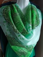 Hedvábný malovaný šátek - Jo! Jaro je tady! 2