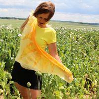 Hedvábný šátek - Mé slunce